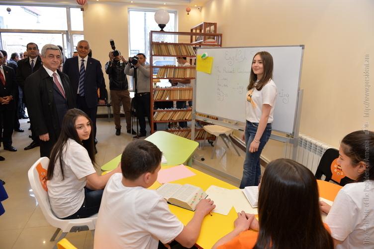 В Масисе появится семейный спорткомплекс: на церемонии закладки фундамента здания присутствовал президент Армении