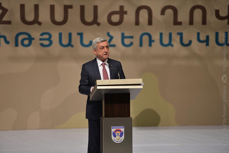 Серж Саргсян поручил обеспечить жильем семьи погибших военнослужащих