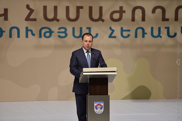 Виген Саркисян представил 2 новых проекта в рамках концепции «Нация-армия»