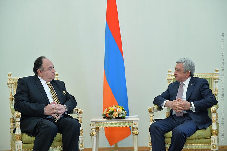 Президент Армении и новый посол Эквадора обсудили вопросы двустороннего сотрудничества