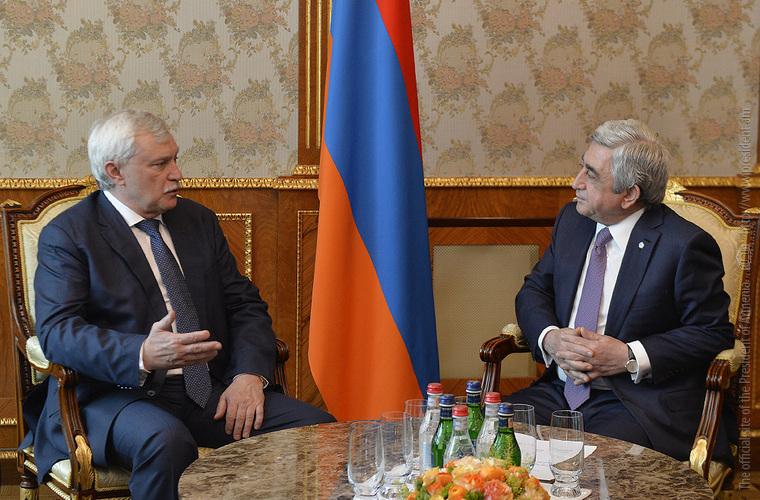 Серж Саргсян: Сотрудничество с регионами РФ – важнейший компонент динамично развивающихся армяно-российских отношений