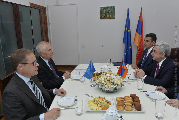 Дальнейшее укрепление Евросоюза вытекает из интересов Армении – Серж Саргсян