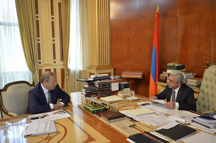 Глава Минздрава Армении заверил Сержа Саргсяна: Не только повысится качество услуг, но и появится экономический эффект
