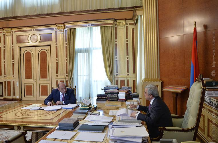 Сурен Караян: Долю экспорта в структуре ВВП Армении в ближайшие 5 лет планируется довести до 45%