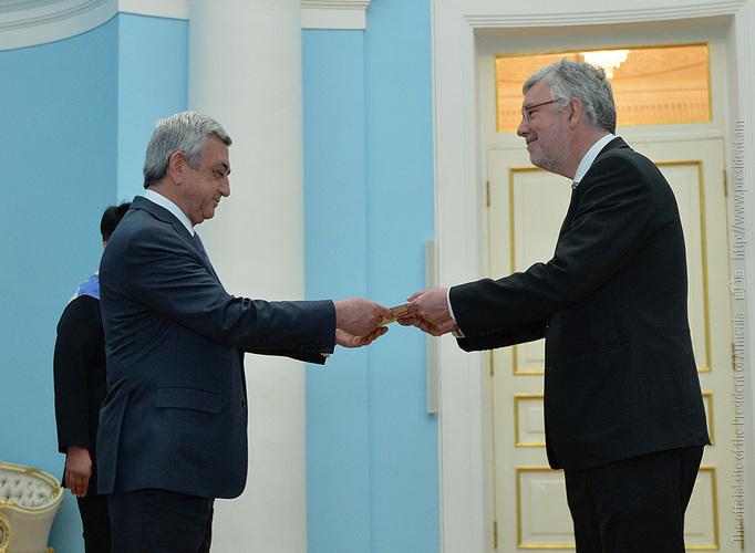 Президент Армении и новый посол Бельгии обсудили перспективы расширения двустороннего взаимодействия в разных сферах