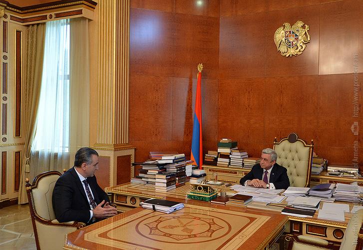 Серж Саргсян дал Игнатию Аракеляну поручения по стимулированию экспорта сельхозпродукции и импортозамещению