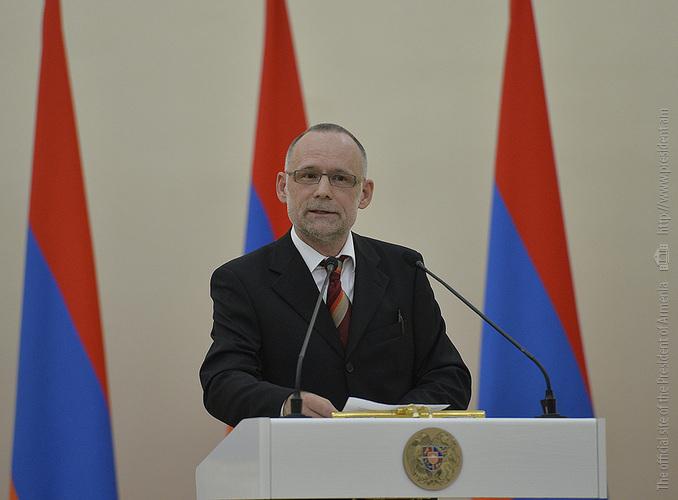 Ученый из Швейцарии получил премию президента Армении за весомый вклад в дело изучения Геноцида армян