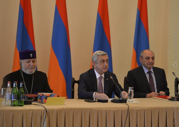 Серж Саргсян: Всеармянский фонд «Айастан» продолжает осуществлять свою уникальную миссию