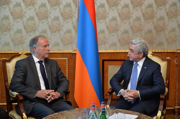 Клаус-Дитер Леман: Институт имени Гёте приложит все усилия для развития сотрудничества с Арменией
