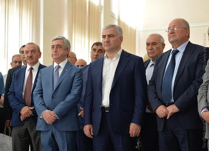 Президент Армении присутствовал на открытии Центра превосходства в Национальном политехническом университете