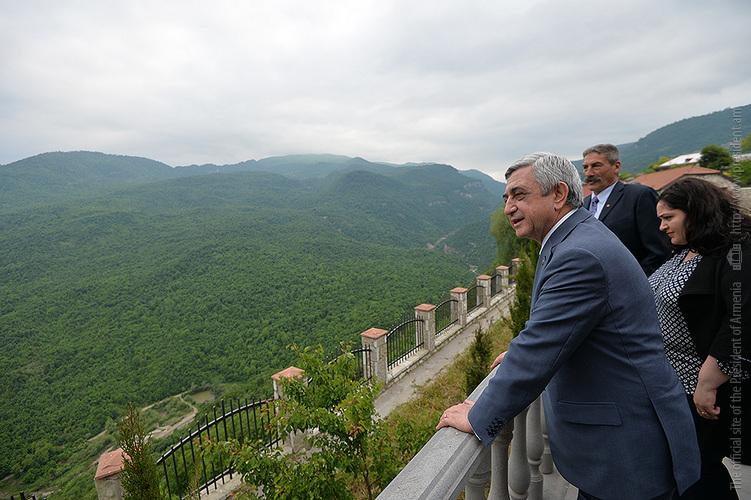 Армянский Енокаван станет центром мирового экстремального туризма
