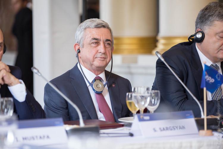 Серж Саргсян на саммите ЕНП в Брюсселе обратился к вопросам безопасности и стабильности на Южном Кавказе