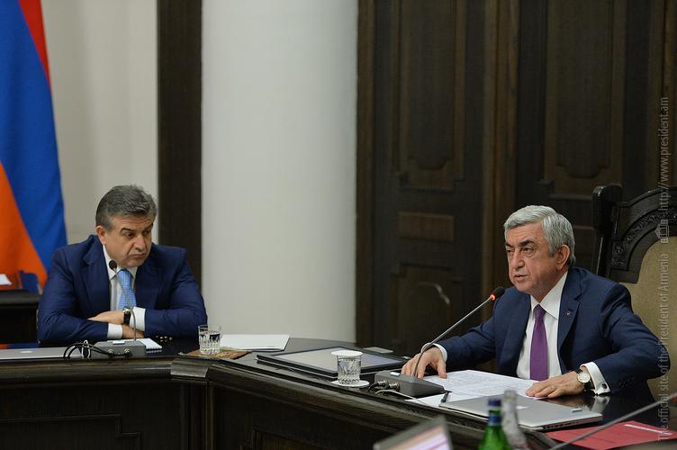 Серж Саргсян: Нынешний состав правительства Армении пользуется полноценным доверием