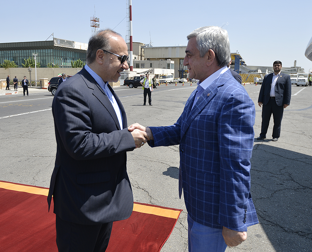 Working Visit Of President Serzh Sargsyan To The Islamic Republic Of