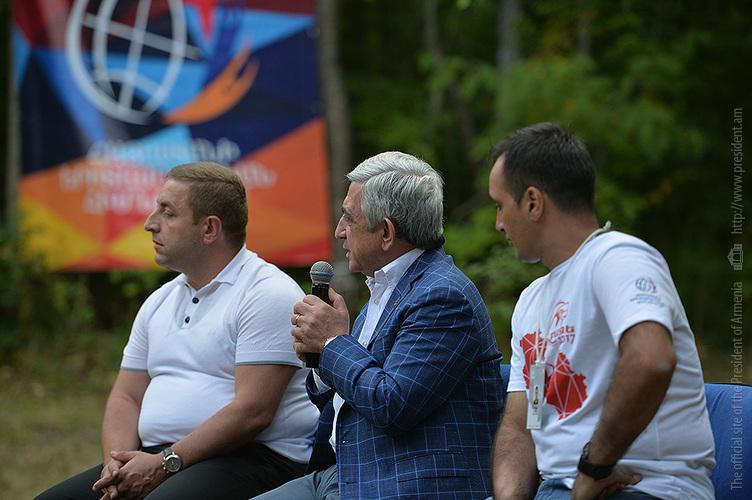 Серж Саргсян: Осенью Армения подпишет с Евросоюзом Соглашение о всеобъемлющем и расширенном партнерстве