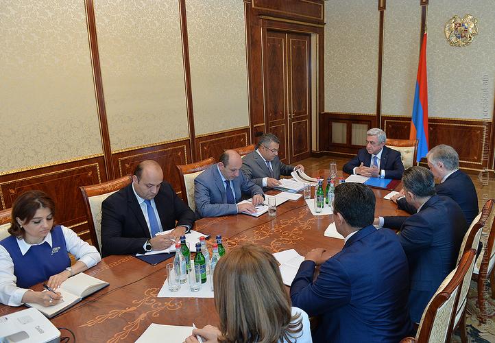 Серж Саргсян: И Чехия, и Словакия являются для Армении важными партнерами