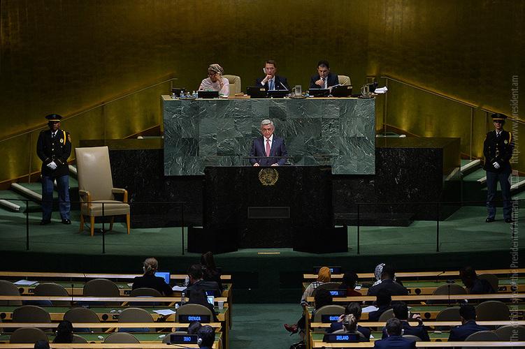 Серж Саргсян: В условиях отсутствия позитивного сдвига Армения объявит армяно-турецкие протоколы ничтожными
