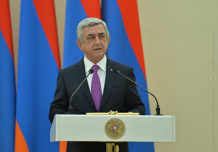 Серж Саргсян поздравил еврейскую общину Армении по случаю нового года
