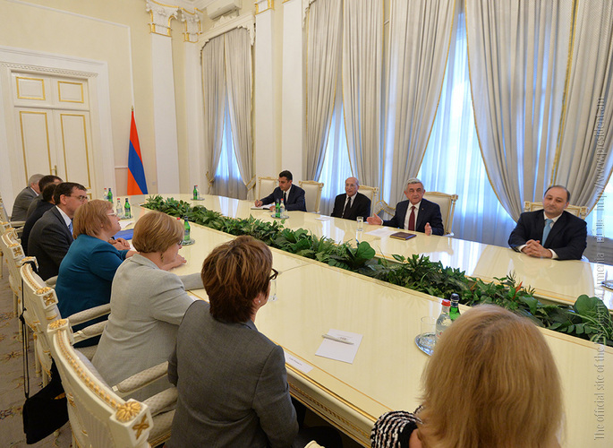 Президент Армении на встрече с европейскими статистиками: от достоверных данных и анализов зависит прогресс любого общества