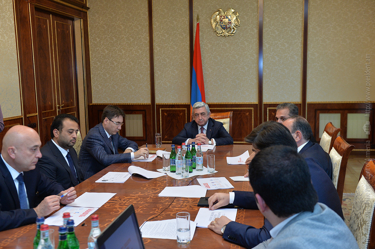 Сержу Саргсяну представлена концепция основания Технологического университета Армении