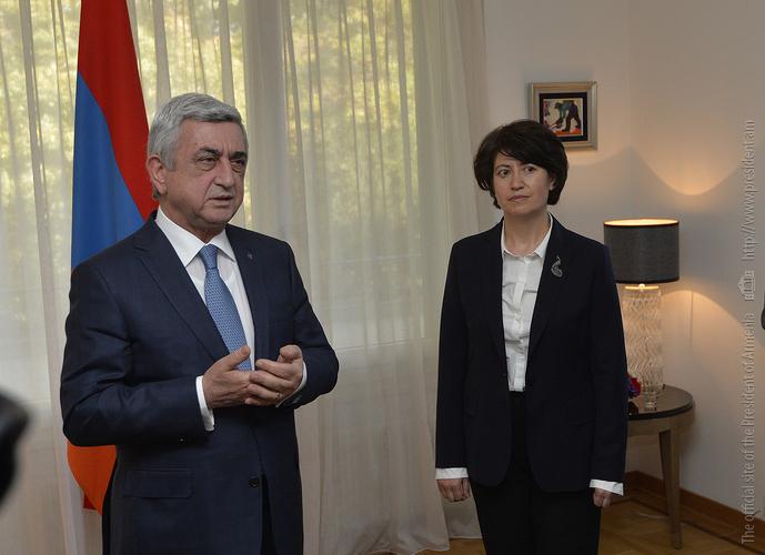 Серж Саргсян: Мы с президентом Азербайджана И. Алиевым договорились о снижении напряженности