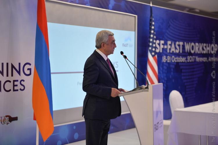 Серж Саргсян: Шаг за шагом мы упорно преодолеваем существующие трудности