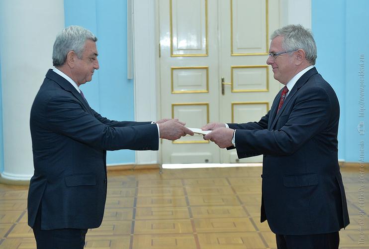 Президент Армении и посол Дании обсудили подписание нового соглашения с ЕС