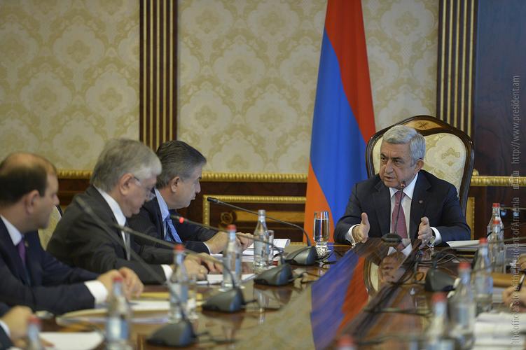Серж Саргсян: В Армении в 2018 году намечены 3 крупных мероприятия