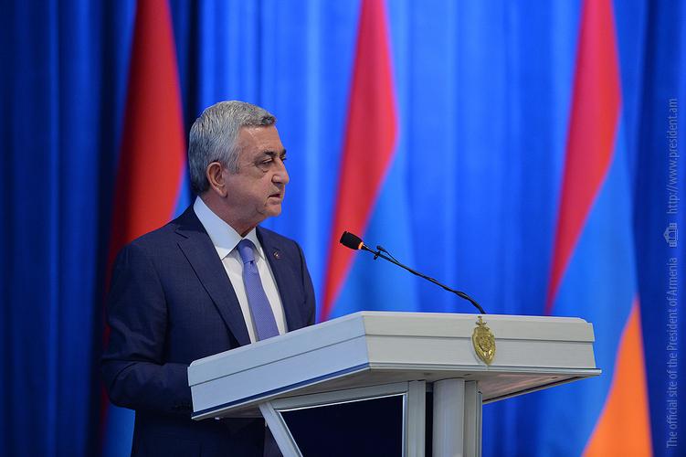 Серж Саргсян дал Полиции задание: оперативно выявить и конфисковать незаконно хранящееся оружие и боеприпасы