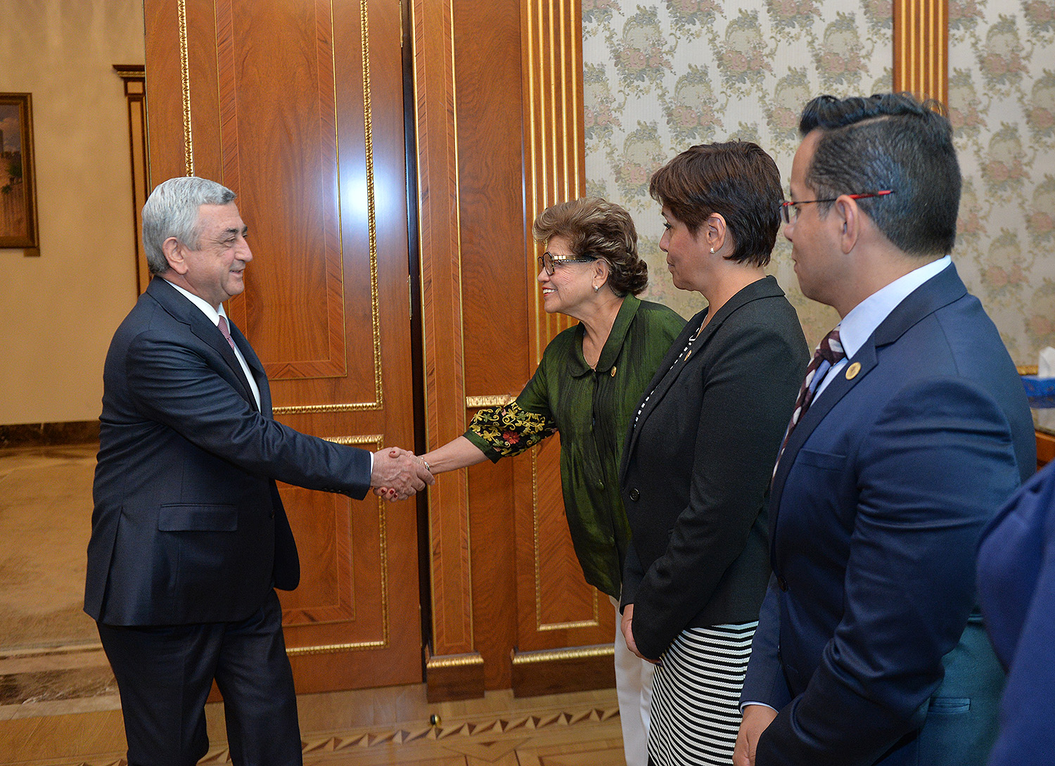 President Welcomes Members Of Mexico Armenia Friendship Group Of