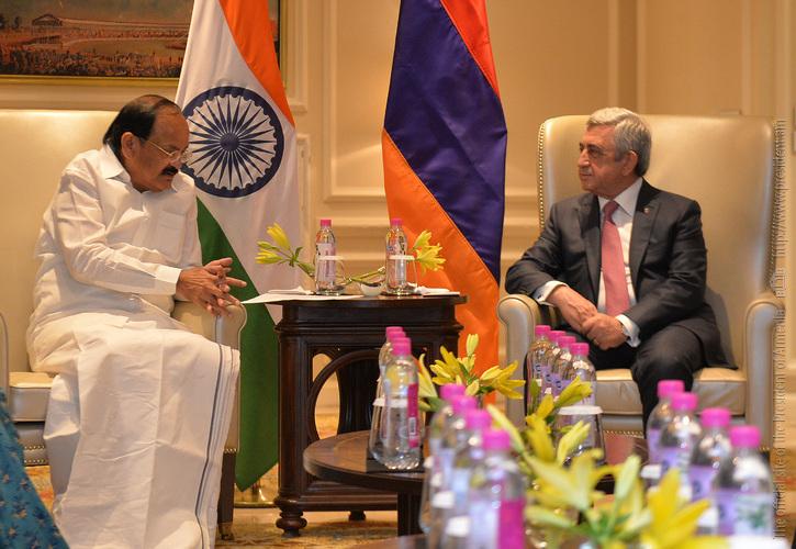 Президент Армении и вице-президент Индии заявили о необходимости реформ в международных структурах и в ООН