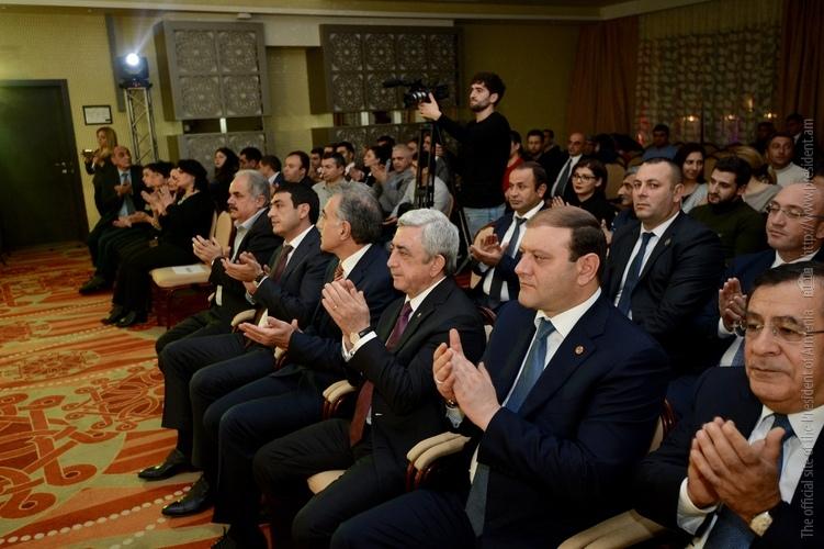 Серж Саргсян присутствовал на торжественном открытии международного шахматного турнира «Tsaghkadzor Open»