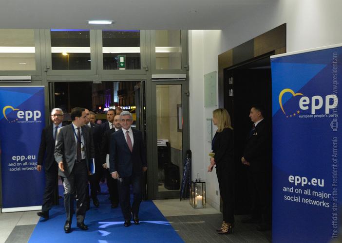 Серж Саргсян: Армения успешно совмещает членство в ЕАЭС и участие в стратегии соседства ЕС