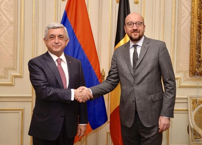Серж Саргсян: Подписание соглашения с ЕС откроет новую страницу в истории двусторонних отношений