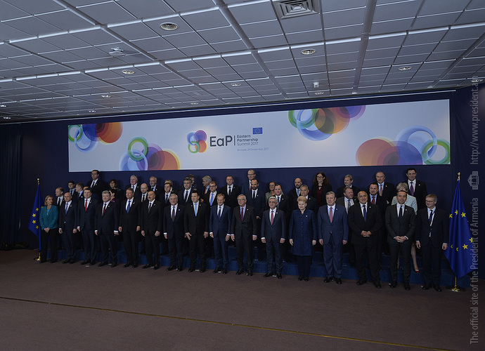 В Брюсселе на саммите «Восточного партнерства» принята итоговая декларация