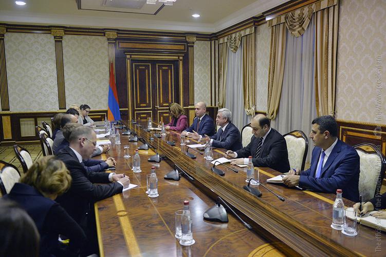 Серж Саргсян высоко оценил взвешенную позицию Комиссии парламентского сотрудничества Армения-ЕС по вопросу Карабаха