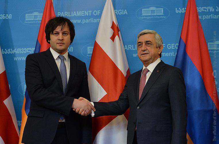 Серж Саргсян: Парламентам Армении и Грузии после конституционных реформ предначертана великая миссия