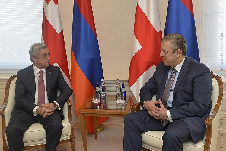 Giorgi Kvirikashvili armenia ile ilgili görsel sonucu