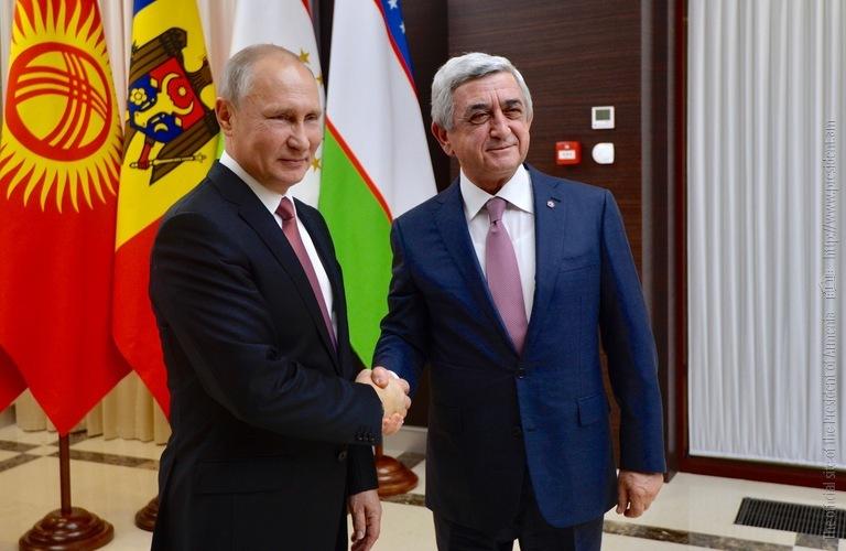Саргсян: Позитивные экономические тенденции в РФ положительно сказались на Армении