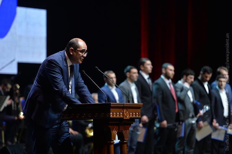 Серж Саргсян наградил лучших спортсменов Армении за 2017 год