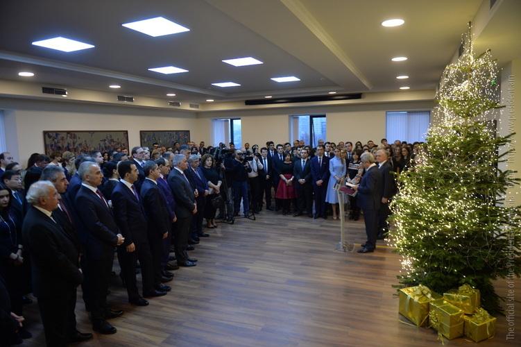 Президент: Международное сообщество и Армения говорят почти на одном языке