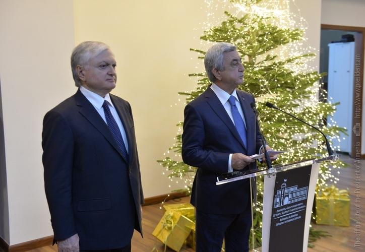 Серж Саргсян: В 2018 году в Армении пройдет самое масштабное событие за период независимости