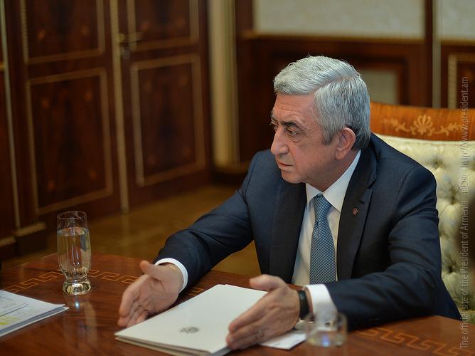 «Жаманак»: Серж Саргсян подтвердил, что в 2018 году займет пост премьера