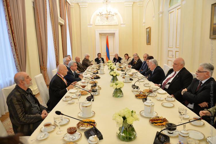 Серж Саргсян: Будущий президент должен быть человеком, который никогда раньше не занимался политикой