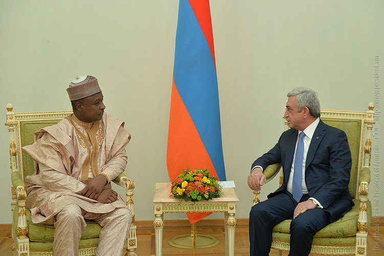 Президент Армении обсудил с послом Нигерии развитие двусторонних отношений
