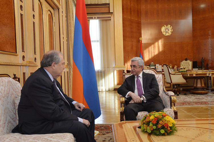 Армен Саркисян рассказал Сержу Саргсяну, когда даст ответ на предложение стать кандидатом от РПА на пост четвертого президента Армении