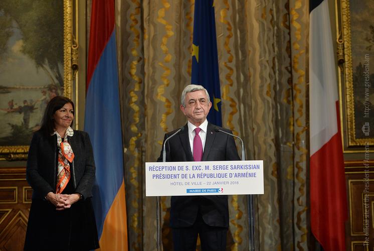 Серж Саргсян: Проведение саммита Международной организации Франкофонии в Ереване имеет особое значение для Армении