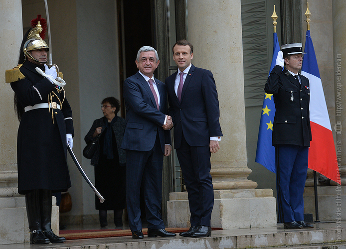 Серж Саргсян: Франция – важнейший партнер Армении