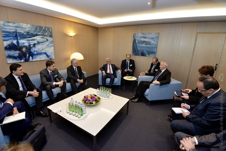 Серж Саргсян в Страсбурге: Армения придает большую важность расширяющемуся сотрудничеству с Советом Европы