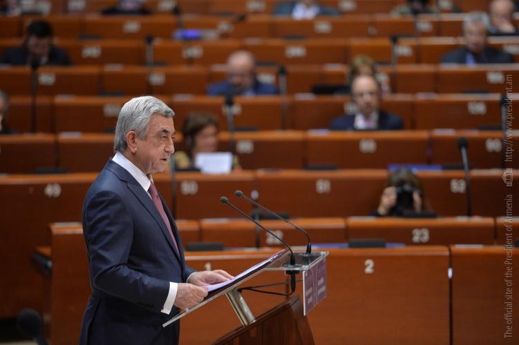 Серж Саргсян: Возращение Карабаха в состав Азербайджана просто невозможно